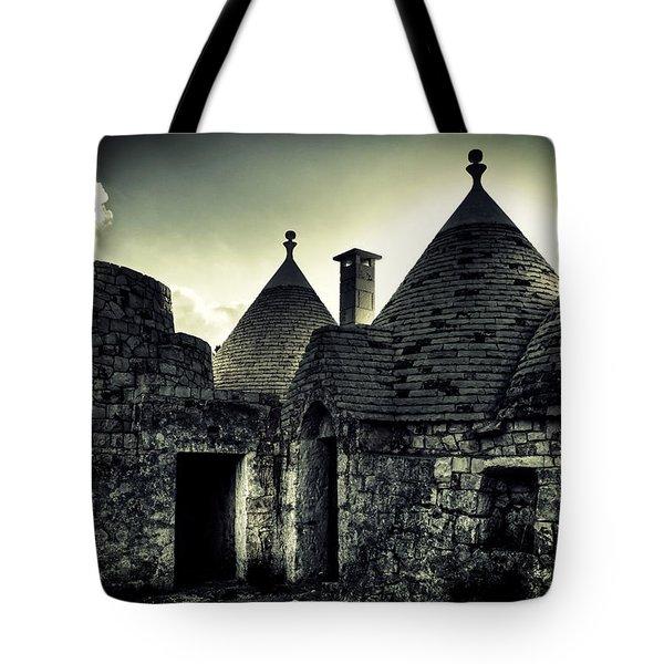Trulli Tote Bag by Joana Kruse