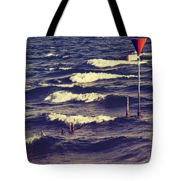 Waves Tote Bag by Joana Kruse