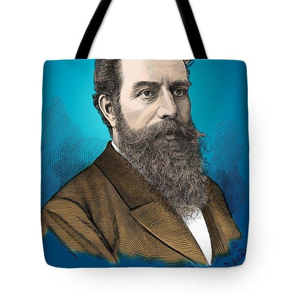 Wilhelm Roentgen, German Physicist Tote Bag by Science Source