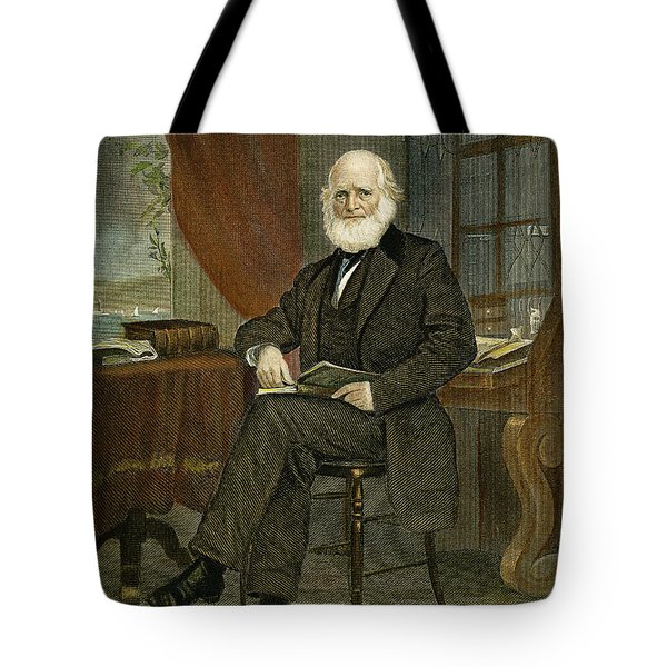 William Cullen Bryant Tote Bag by Granger