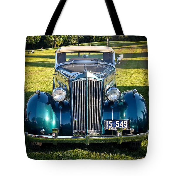Tote Bag featuring the photograph '35 Packard by Ronda Broatch