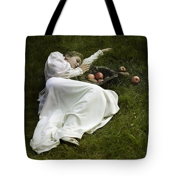 Basket With Fruits Tote Bag by Joana Kruse
