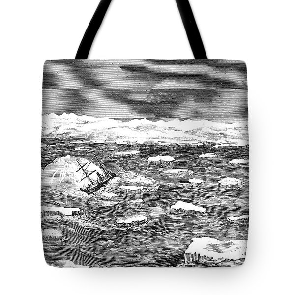 Charles Francis Hall Tote Bag by Granger