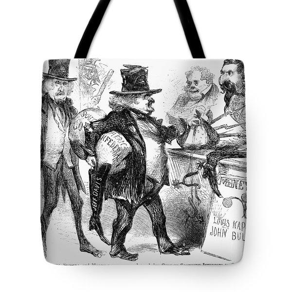 Civil War: Cartoon, 1861 Tote Bag by Granger