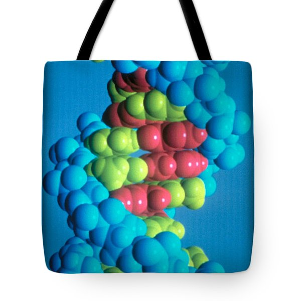 Dna Tote Bag by Science Source