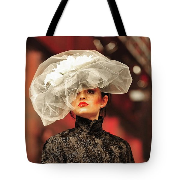 Fat Fashion Art Toronto Tote Bag by Andrea Kollo