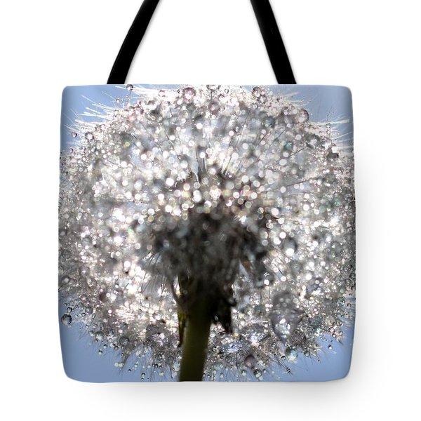 Tote Bag featuring the photograph Fleur De Cristal by Sylvie Leandre