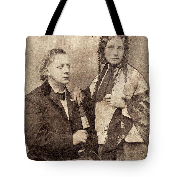 Henry Ward Beecher Tote Bag by Granger