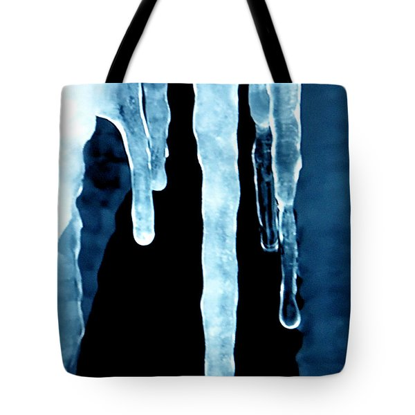 Ice Particles Tote Bag by Colette V Hera  Guggenheim