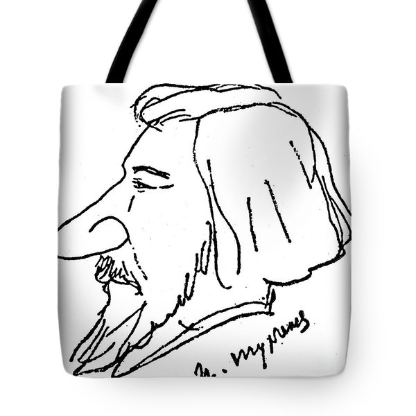 Ivan Turgenev (1818-1883) Tote Bag by Granger