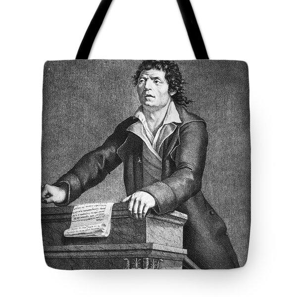 Jean-paul Marat (1743-1793) Tote Bag by Granger