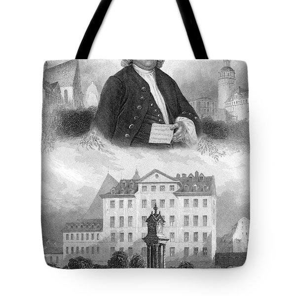 Johann Sebastian Bach Tote Bag by Granger