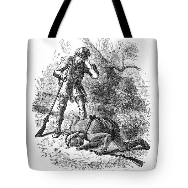 Last Of The Mohicans, 1872 Tote Bag by Granger