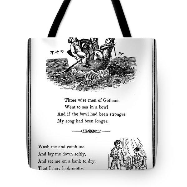 Mother Goose, 1833 Tote Bag by Granger