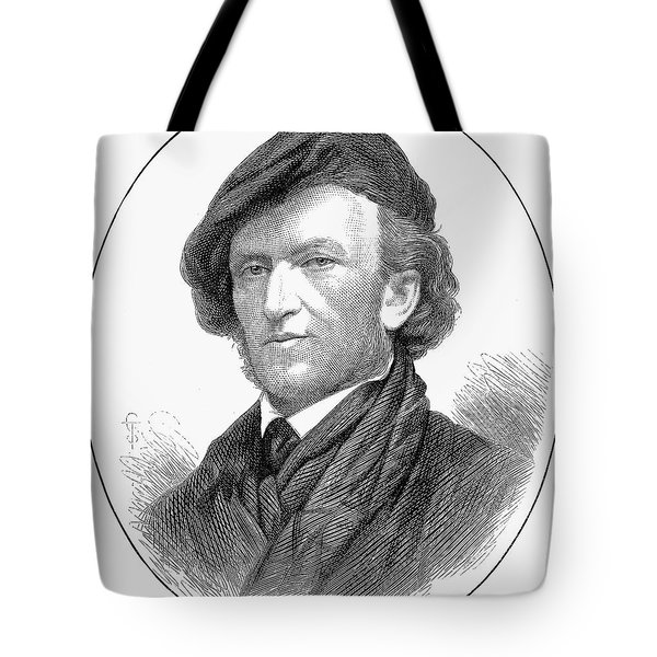 Richard Wagner (1813-1883) Tote Bag by Granger