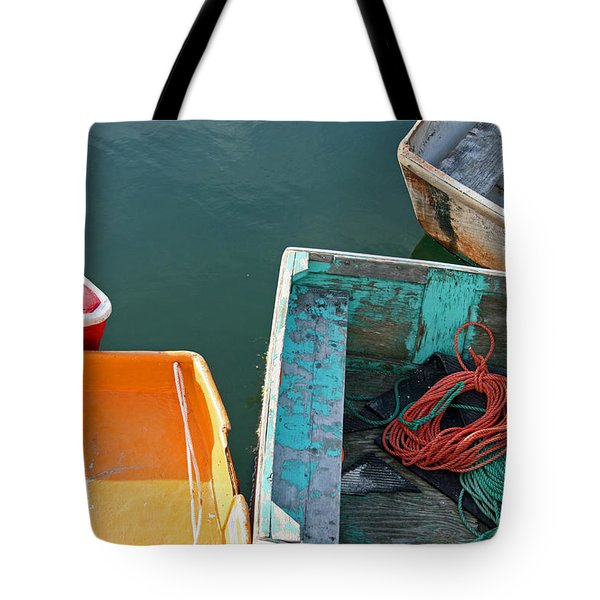 4 Row Boats Tote Bag