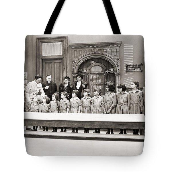Silent Still: Children Tote Bag by Granger