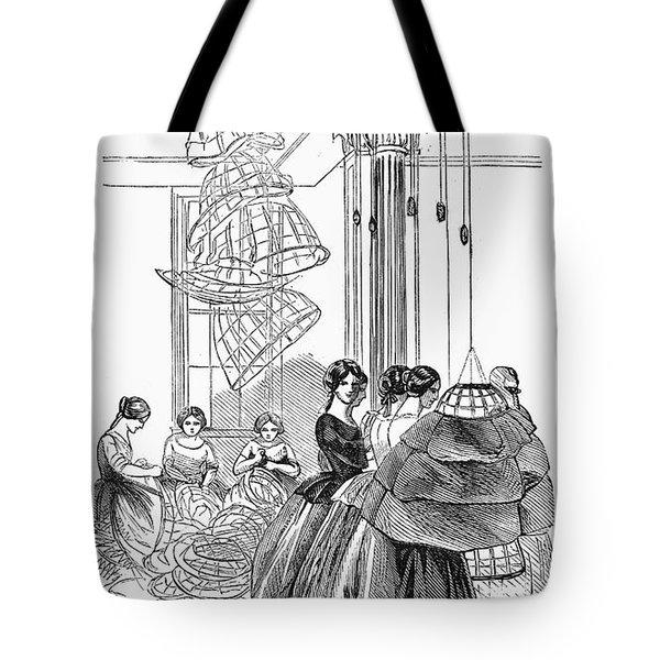 Skirt Factory, 1859 Tote Bag by Granger