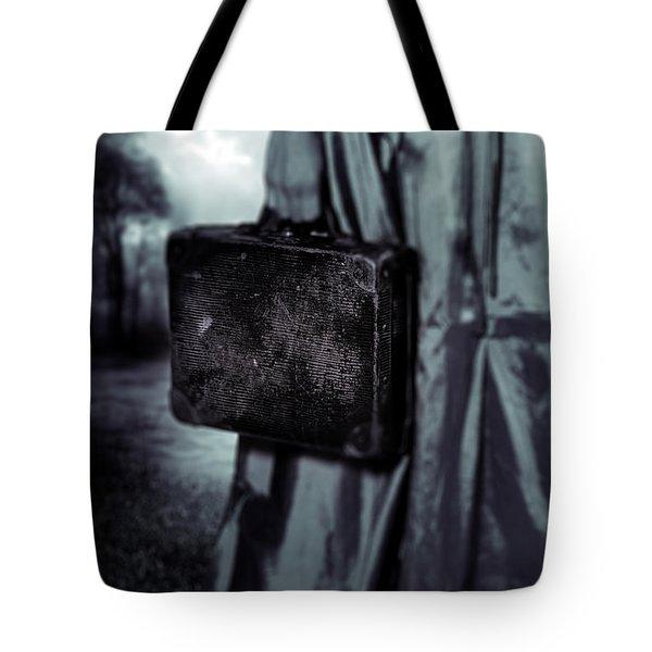 Suitcase Tote Bag by Joana Kruse