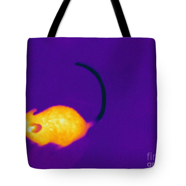 Thermogram Of A Mouse Tote Bag