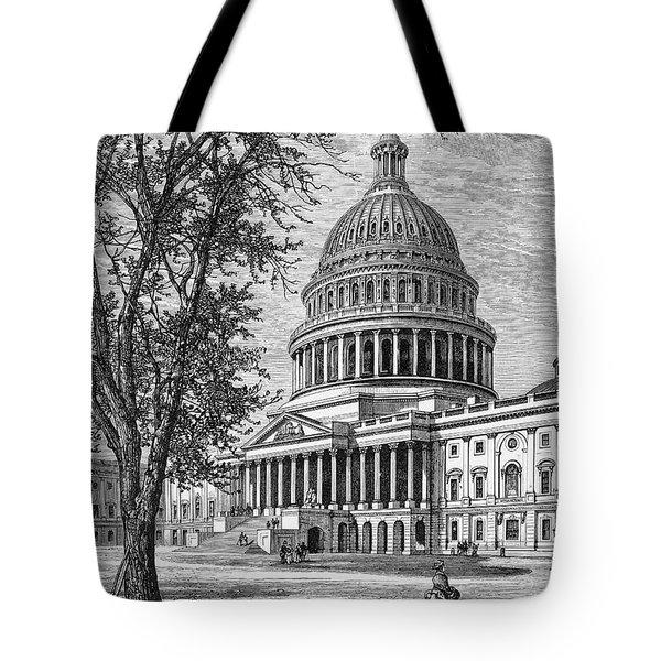 U.s. Capitol Tote Bag by Granger