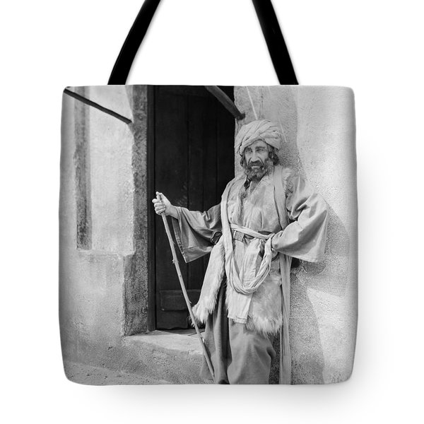 Silent Still: Single Man Tote Bag by Granger