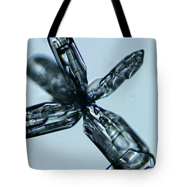 Snowflake Tote Bag by Ted Kinsman