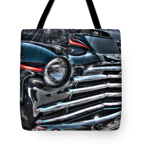 48 Chevy Convertible 2 Tote Bag by Anthony Wilkening