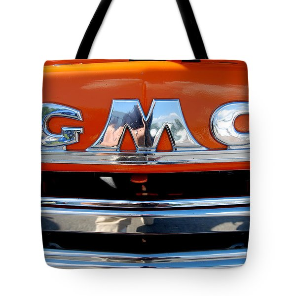Tote Bag featuring the photograph '49 G M C by John Schneider