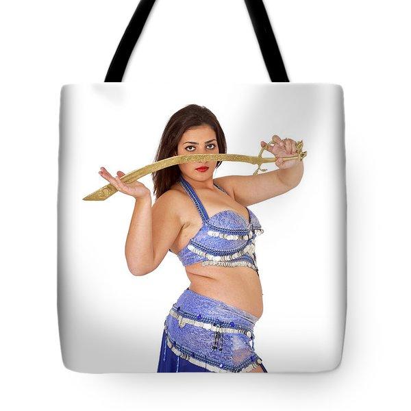 Belly Dancer Tote Bag by Ilan Rosen