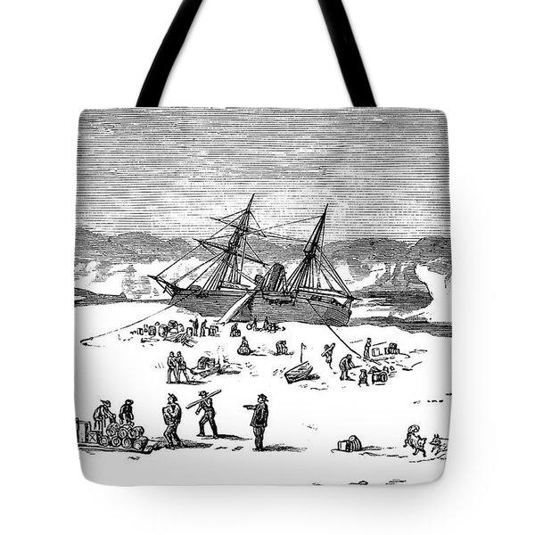 Charles Francis Hall Tote Bag by Granger