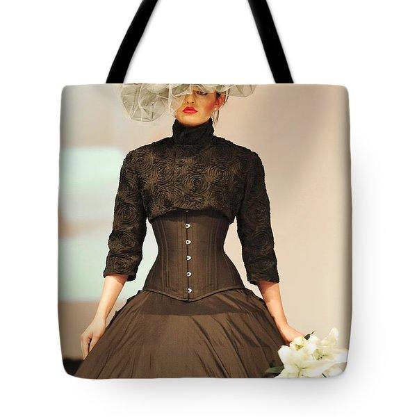 Fat Fashion Art Toronto Tote Bag by Andrea Kollo
