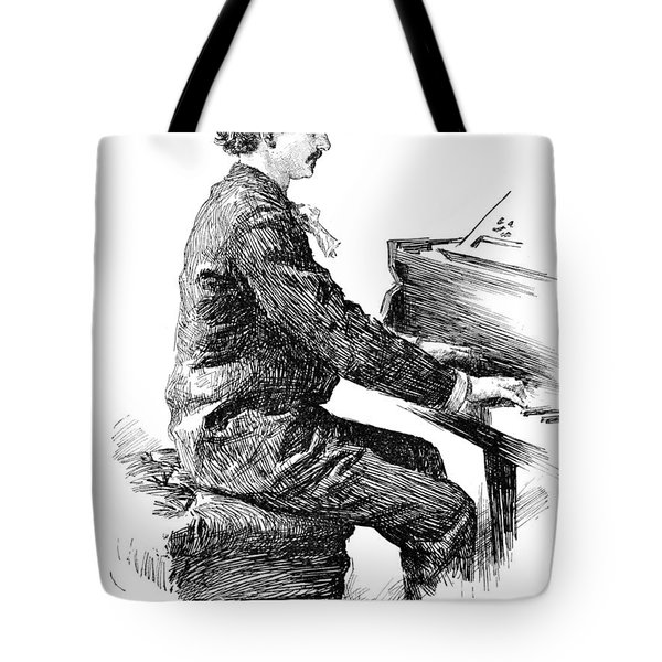 Ignace Jan Paderewski Tote Bag by Granger