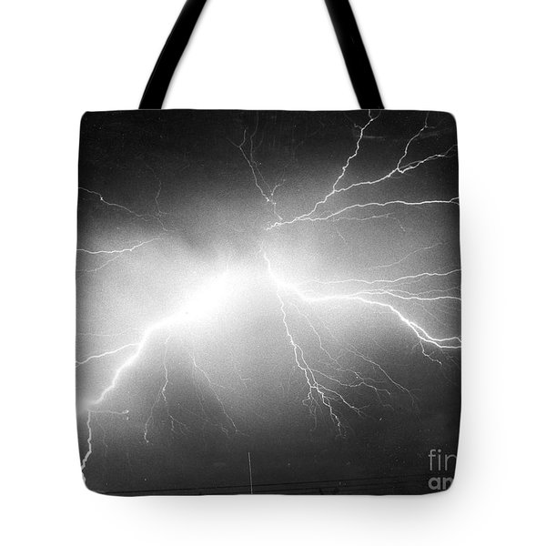 Lightning Tote Bag by Science Source