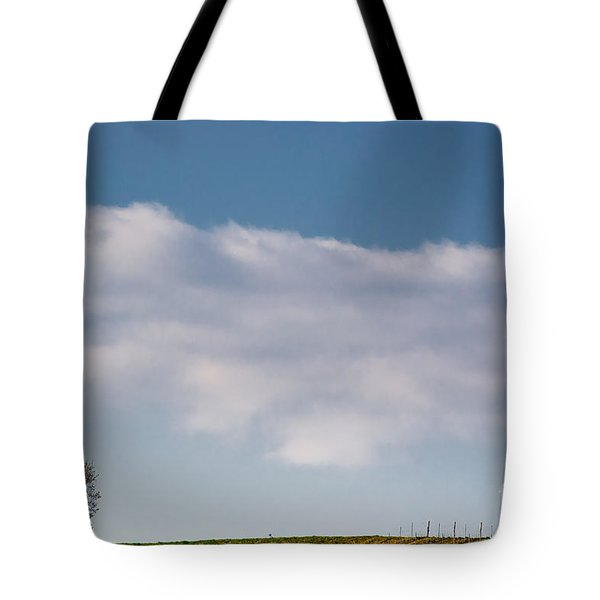 Lonely Tree Tote Bag by Mats Silvan