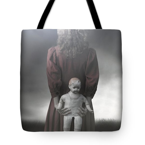 Old Doll Tote Bag by Joana Kruse