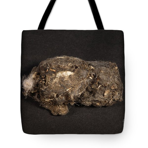Owl Pellet Tote Bag by Ted Kinsman