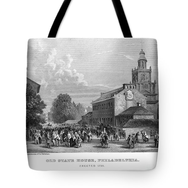 Philadelphia State House Tote Bag by Granger