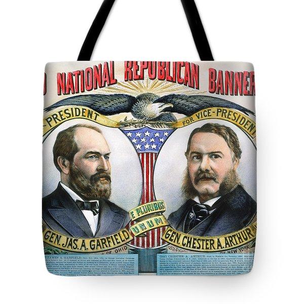 Presidential Campaign, 1880 Tote Bag