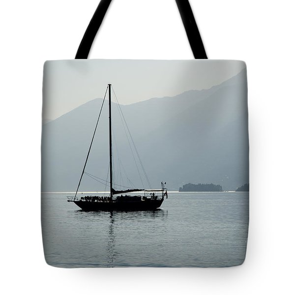Sailing Boat Tote Bag by Mats Silvan