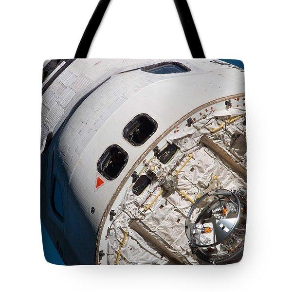 Space Shuttle Atlantis Tote Bag by Stocktrek Images