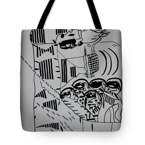 The Wise Virgins Tote Bag by Gloria Ssali