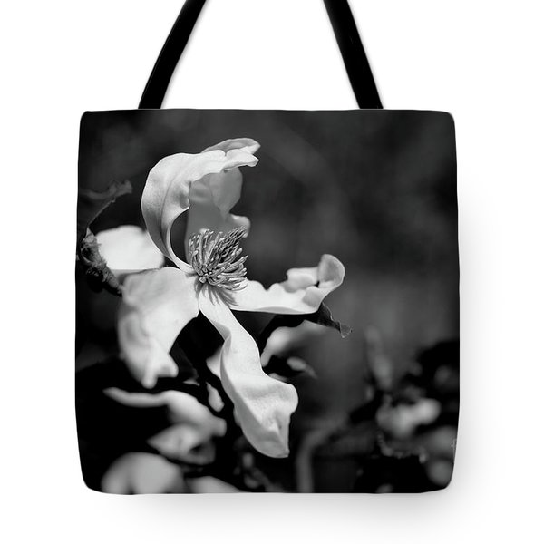 White Magnolia Tote Bag