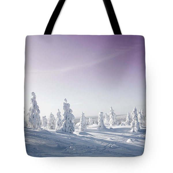 Winter Tote Bag by Kati Molin