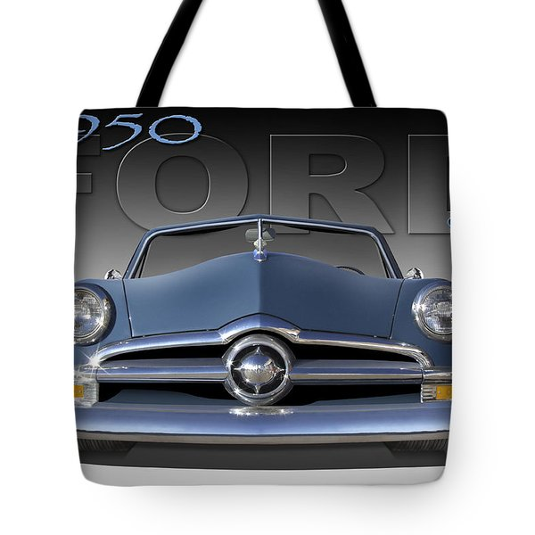 50 Ford Custom Convertible Tote Bag by Mike McGlothlen