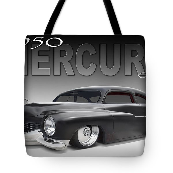 50 Mercury Coupe Tote Bag by Mike McGlothlen