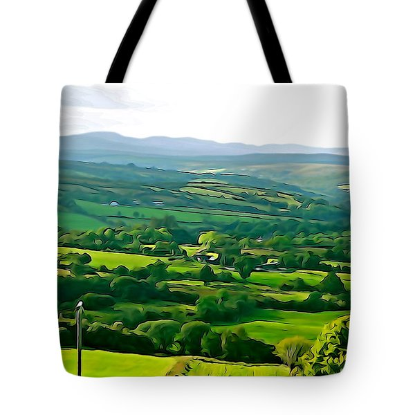 Tote Bag featuring the photograph 50 Shades Of Green by Charlie and Norma Brock