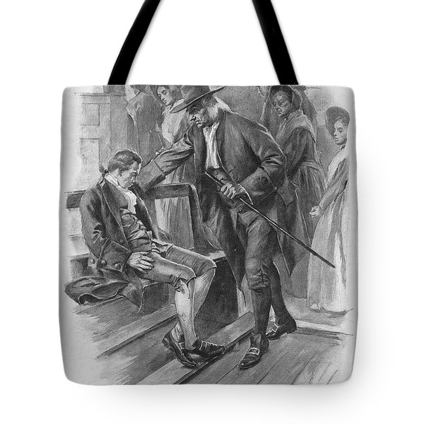 Benjamin Franklin (1706-1790) Tote Bag by Granger