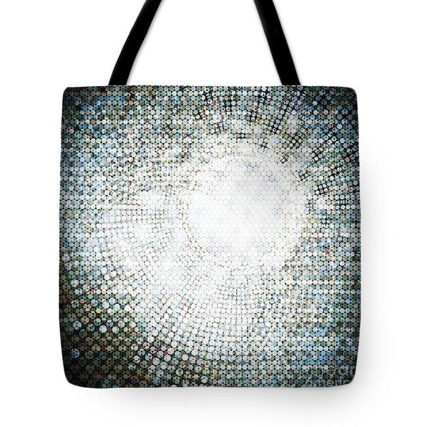 Abstract Of Circle Tote Bag