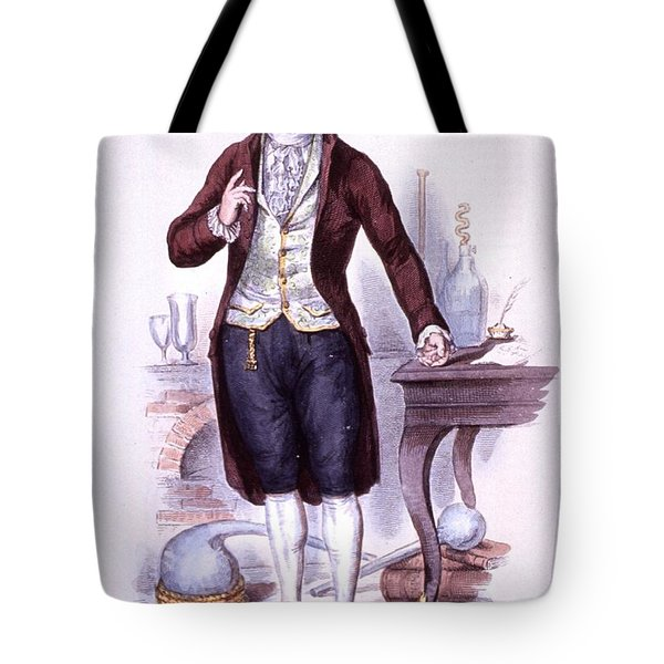 Antoine-laurent Lavoisier, French Tote Bag by Science Source